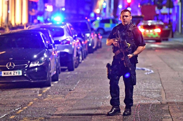 "A new ""knife and van"" attack in London shows once again the price that Europe is paying for giving in to the naivety of gun control"