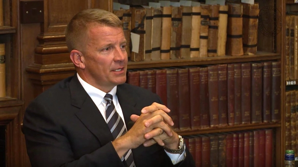 Erik Prince, CEO of Frontier Resource Group