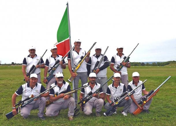 """La squadra italiana, di """"proprietà"""" dell'Associazione Italiana Tiro a Lunga Distanza, come ribadito nel comunicato stampa della AITLD del 24 agosto 2017"""