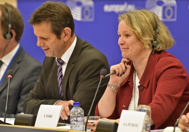 British MEP Vicky Ford provided some updates from the ongoing trialogue