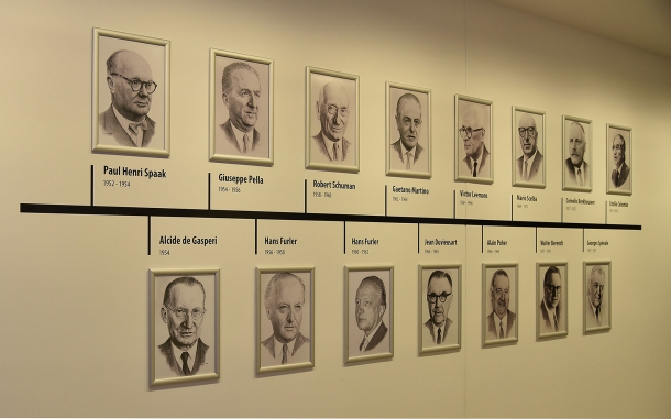Presidents of the European Parliament, 1952 to 1979