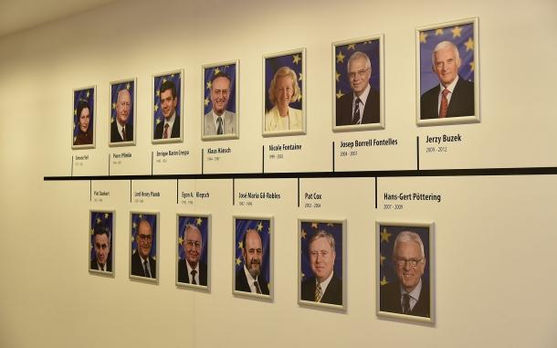 I presidenti del Parlamento Europeo, dal 1979 al 2012