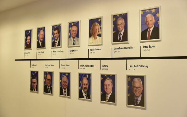 Presidents of the European Parliament, 1979 to 2012