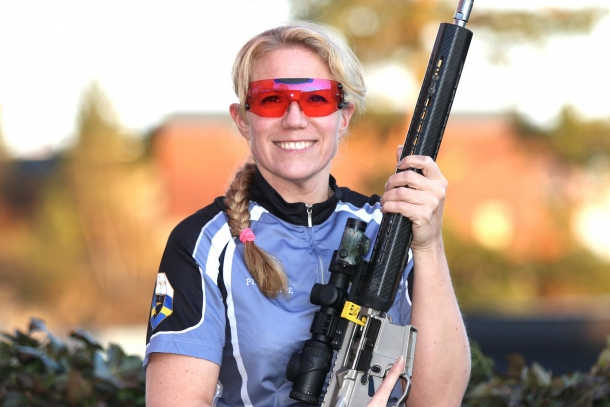 """Swedish IPSC shooter Pia Clerté called the EU Gun Ban plans """"a farce"""" and asked MEPs to bring it to a full stop"""