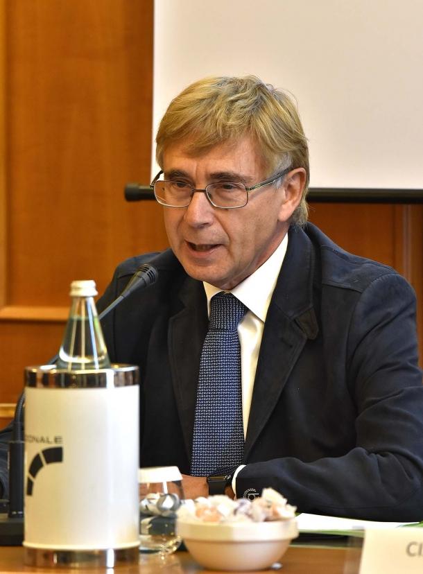 Il Dott. Giampiero Sammuri, Presidente di Federparchi