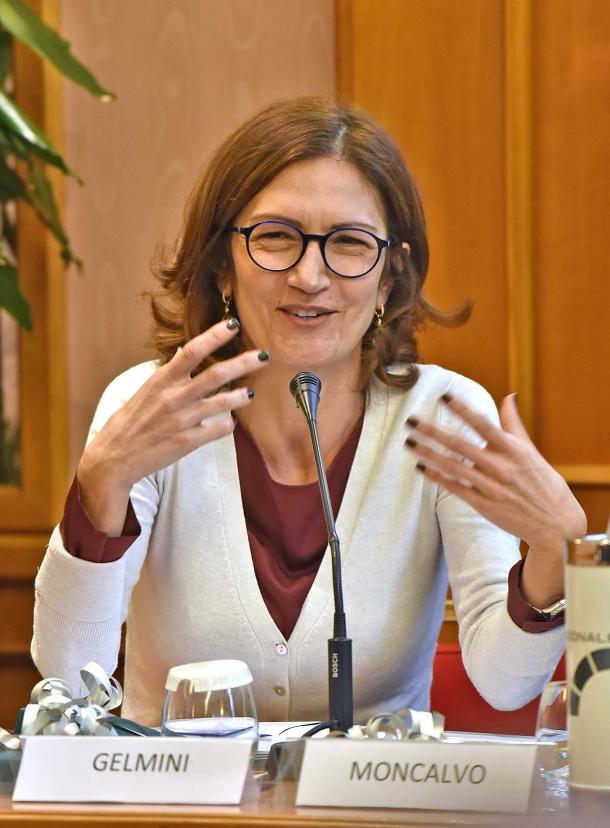 l'On. Mariastella Gelmini, Vicecapogruppo vicario di Forza Italia alla Camera