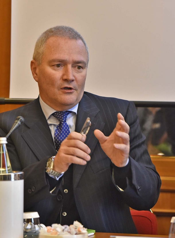 Il Dott. Mauro Libé, consigliere politico del Ministro dell'Ambiente