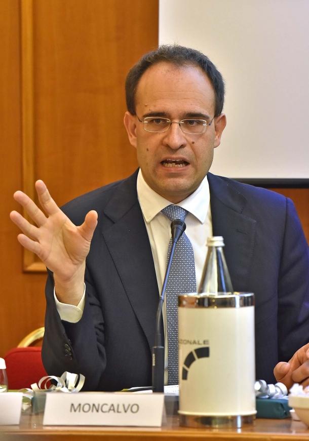 Il Dott. Roberto Moncalvo, Presidente Coldiretti