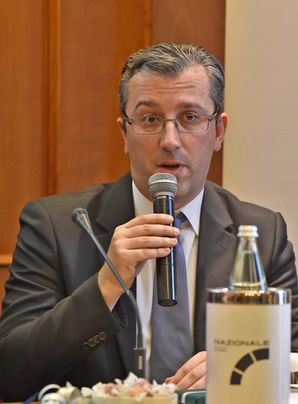 L'On. Stefano Borghesi, Deputato della Lega Nord