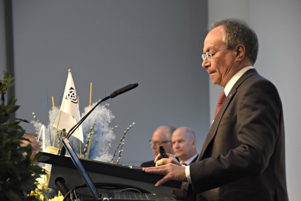 Mr. Stephen Petroni (Malta), Chairman of the Foundation for European Societies of Arms Collectors (F.E.S.A.C.)