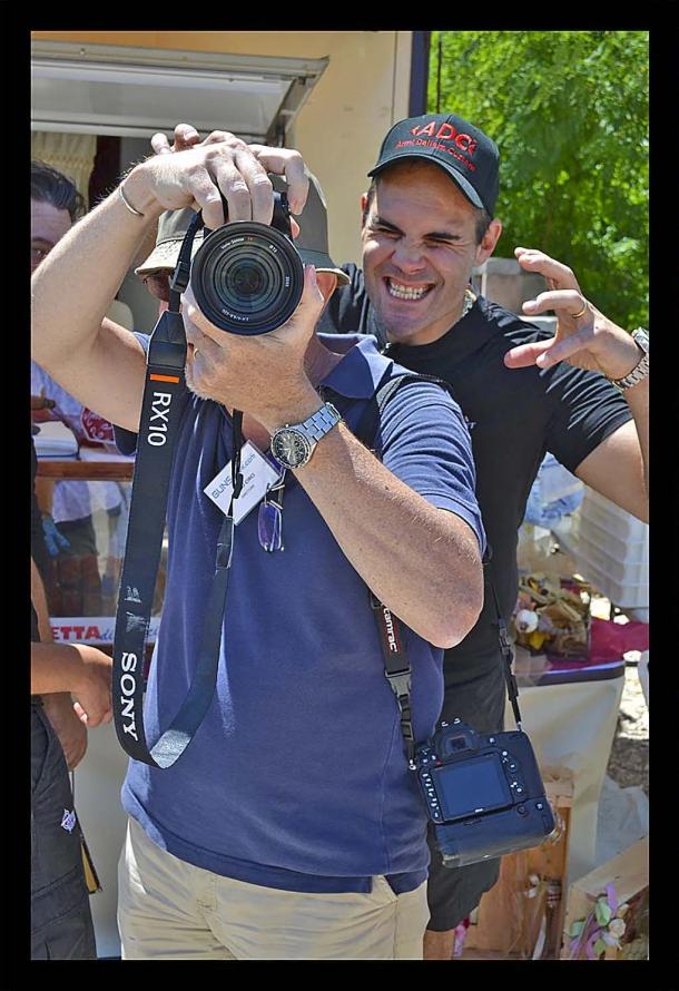 Bruno Circi fotografa Andrea Tommasi