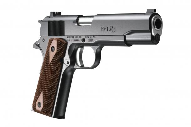 Il secondo premio: pistola semi-automatica Remington 1911 R1 calibro .45 ACP