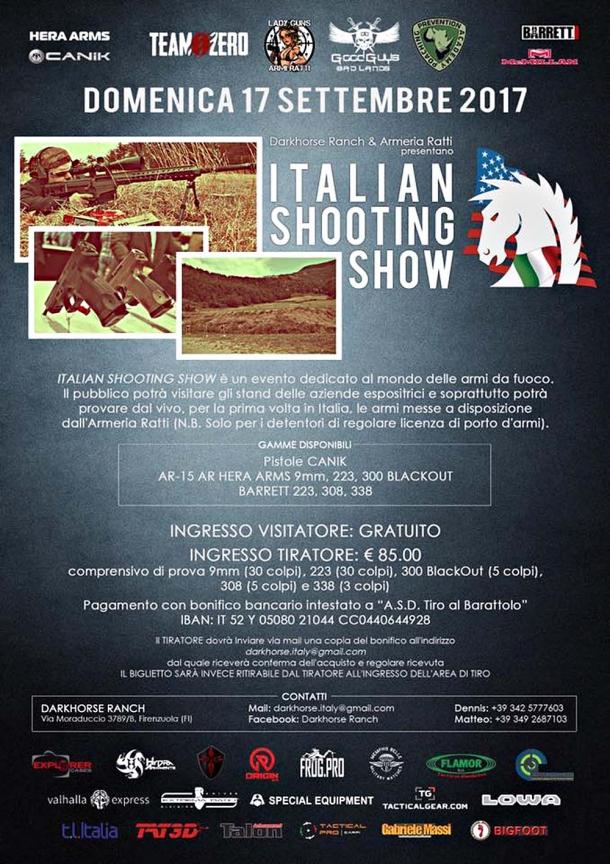 Italian Shooting Show: un evento da non perdere!