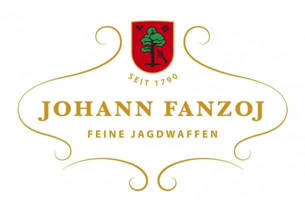 Johann Fanzoj logo. The Austrian Gunmaker is active in Ferlach since 1790