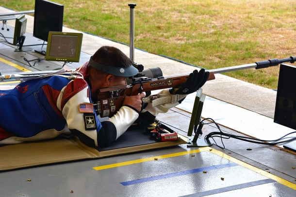 ISSF 50m prone rifle