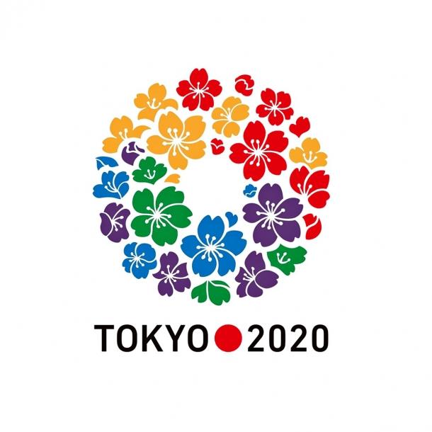 The Tokyo 2020 Olympics logo