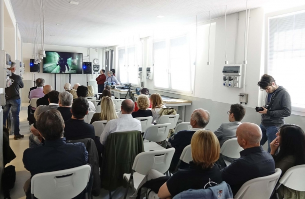 Un momento della presentazione della Arsenal Firearms Academy, avvenuta presso la sede dell'azienda.