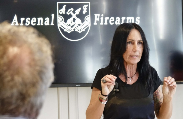 Silvia Fracassi, General Manager della Arsenal Firearms Italia