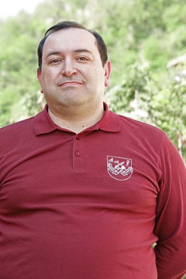 Davide Monorchio, istruttore Arsenal Firearms Academy