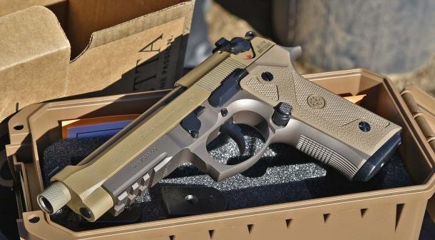 La Beretta M9A3: quando fu annunciato il programma MHS, la Beretta chiese all'Esercito USA di annullarlo, proponendo un programma di rimpiazzo diretto delle M92-FS con questo modello aggiornato. La richiesta fu rifiutata.