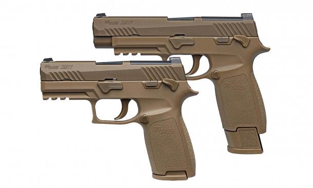 La M17 MHS, versione militarizzata della SIG Sauer P320, è stata designata quest'anno come rimpiazzo della M9