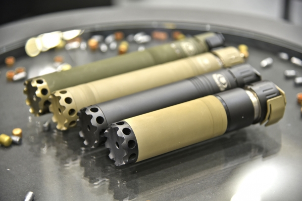 BLACKWATER AMMUNITION quick-mount Universal Silencer System for the AR-platform