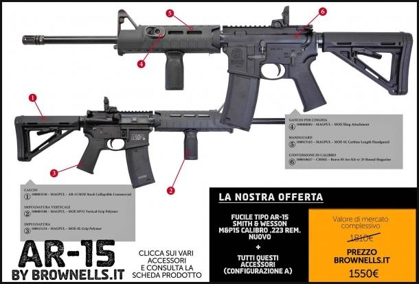 Brownells Italia: armi custom a prezzo speciale!