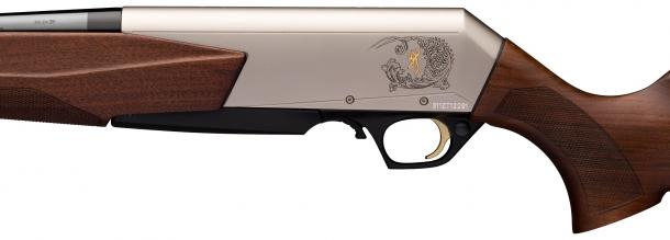 Il Browning BAR Mark 3 si caratterizza per un nuovo stile di cassa e legni