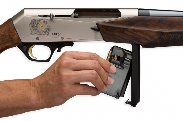 The new BAR Mark 3 is available in nine popular centerfire hunting calibers