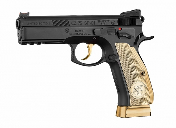 CZ-75 SP-01 Shadow 85th Anniversary Edition – left side
