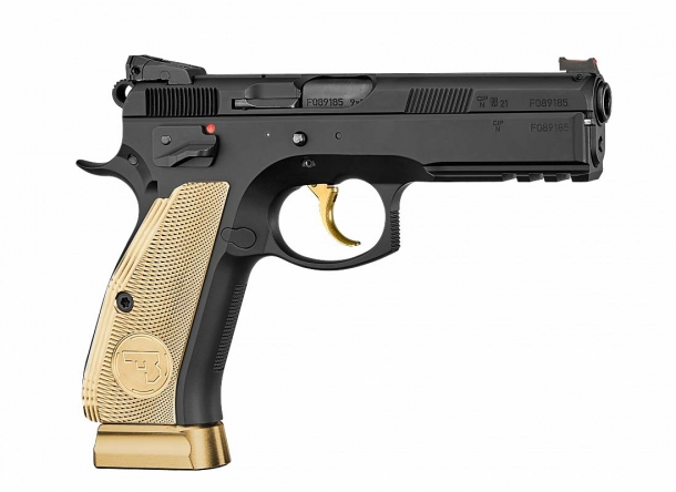 CZ-75 SP-01 Shadow 85th Anniversary Edition – right side