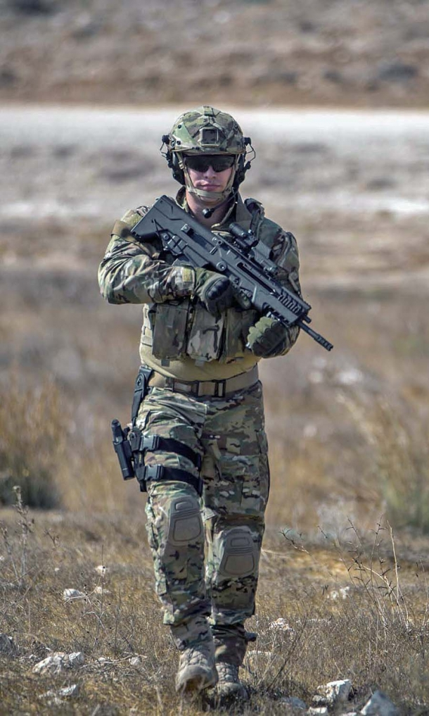 TAVOR 7 is a battle ready innovative weapon, built to be durable and robust