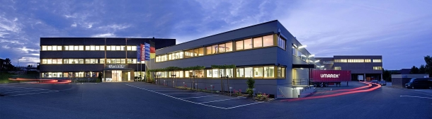 The Umarex headquarters in Arnsberg, Germany