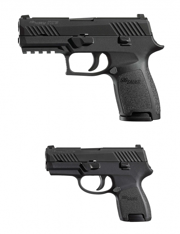 The SIG Sauer P320 is a modular, multicaliber system