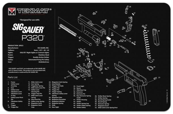 Uno spaccato tecnico della P320: si aggravano giorno dopo giorno le voci relative alla poca sicurezza dell'arma