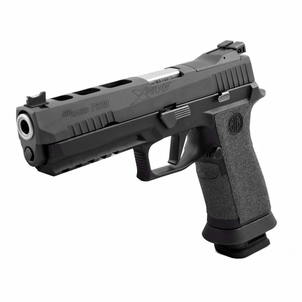 The P320 X-Five variants are also eligible for the Voluntary Upgrade Program
