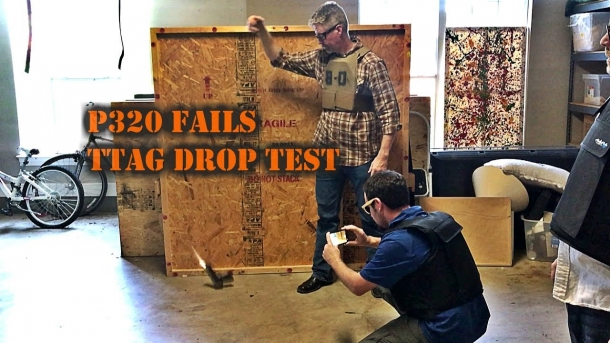 A multitude of independent testers in the U.S. have shown that the P320 can discharge if dropped at a certain aingle