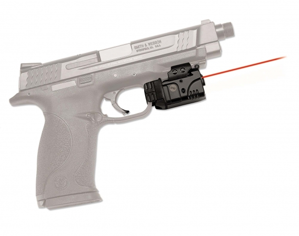Crimson Trace lasers have long been standard factory issue or aftermarket accessories for Smith & Wesson firearms