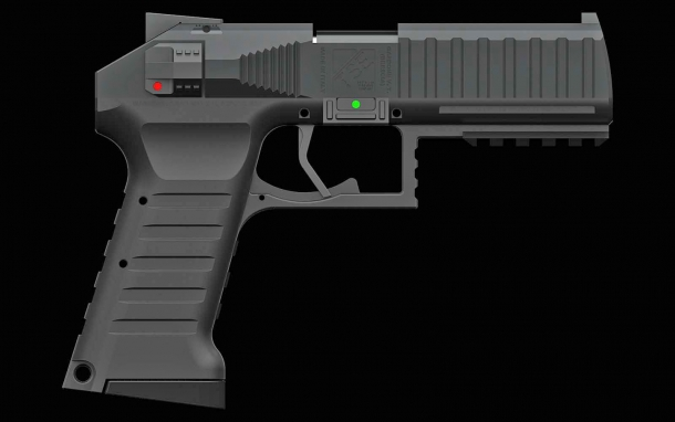 Well-calculated and engineered ergonomics and symmetries: could this be the future of hammer-fired pistols?
