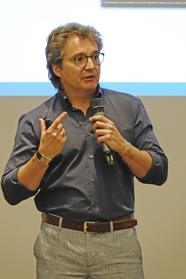 Andrea Luminati, curator of the workshop