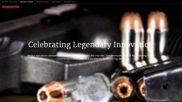 New Winchester Ammunition Web Site and Enhanced Ballistics Calculator