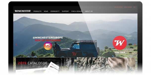 Winchester International renews its on-line presence: new website, Instagram page, e-Magazine