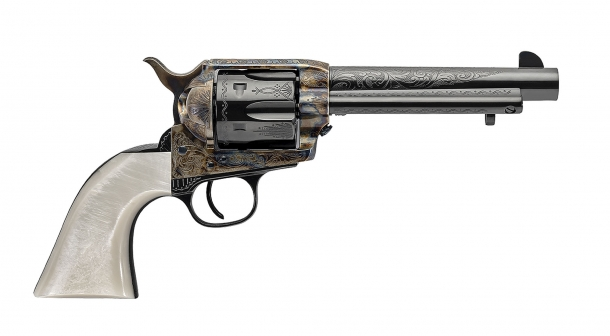The new Dalton 1873 revolver, part of the popular Uberti Outlaws & Lawmen series