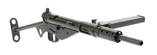Il mitra Sten Mk II, un classico della Seconda Guerra Mondiale, largamente usato anche dai nostri partigiani