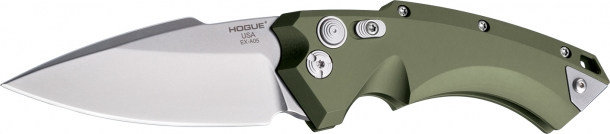 Hogue's EX-A05 are automatic opening variants of the Hogue X5 folder knife