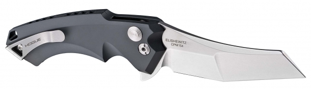 This knife simply does not function like any other flipper on the market: it is a flipper that acts like an automated deployment blade