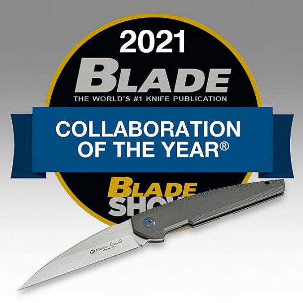 The Maserin Solar knife won the 2021 Blade award as the best collaboration of the year