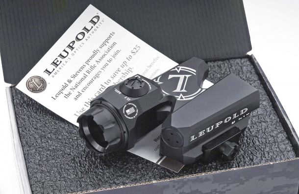 The 1-6x Leupold D-EVO