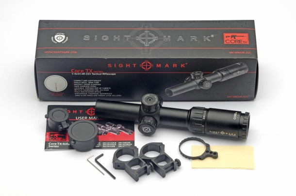 Sightmark Core TX 1-4x24 AR-223 BDC