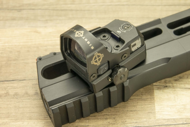 Sightmark Mini Shot M-Spec micro red dot sight